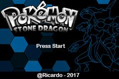 Pokemon Stone Dragon (GBA) – PT-BR