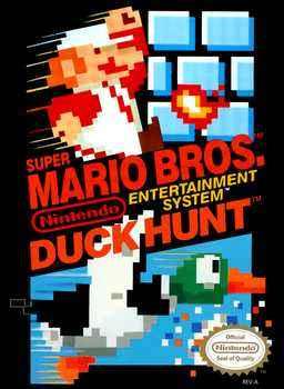 Super Mario Bros. + Duck Hunt Nes
