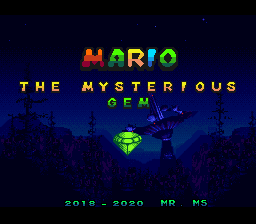 Mario The Mysterious Gem
