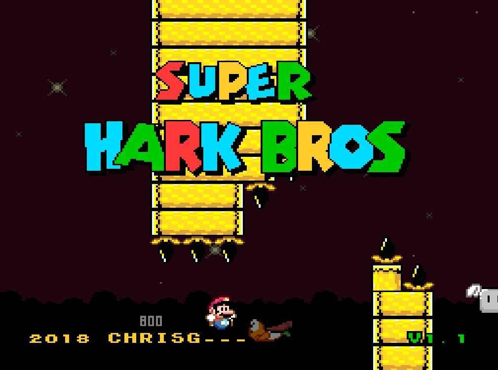 Super Hark Bros [SNES]