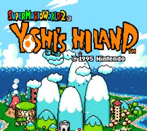 Yoshi's Highland – SNES
