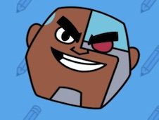 Play Teen Titan Go: Como Desenhar um Ciborgue