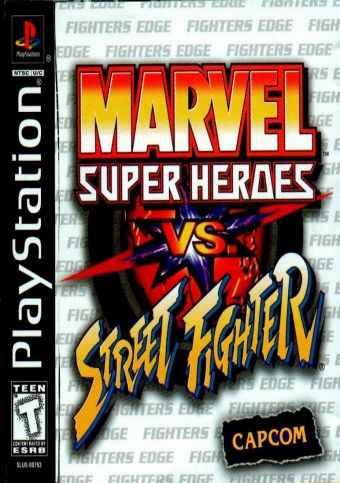 Marvel Super Heroes Vs Street Fighter – PS1