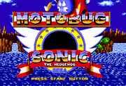 Motobug the Badnik in Sonic the Hedgehog