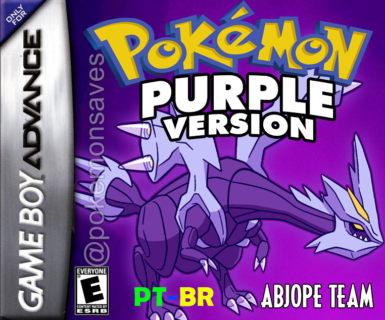 Pokemon Purple (GBA) – PT-BR