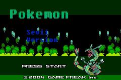 Pokemon Sevii (GBA)