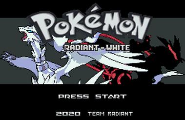 Pokemon Radiant White (GBA)