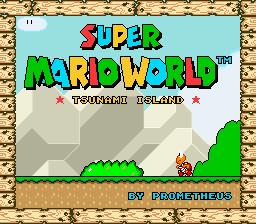 Tsunami Island – Super Mario World