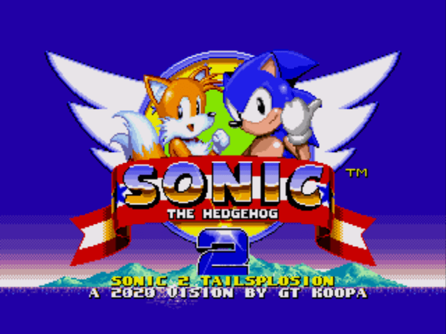 Sonic 2 Tailsplosion