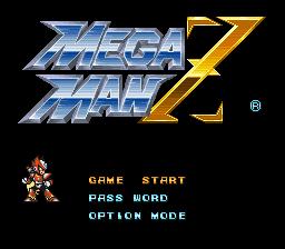 Mega Man X Zero Playable – Text Fix