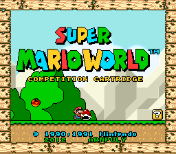 Super Mario World Competition Cartridge