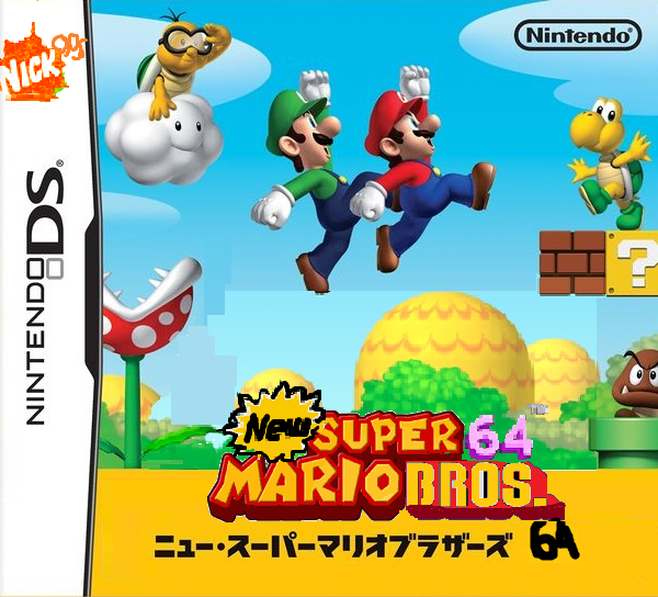 New Super Mario Bros 64 Beta 1.0 – NDS