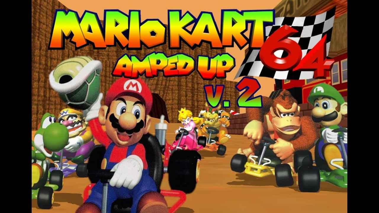 Mario Kart 64 – Amped Up Version 2.0