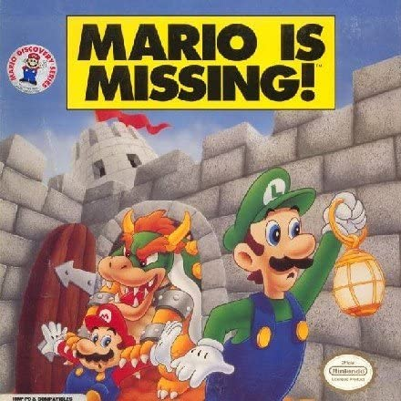 Mario is Missing! – DOS