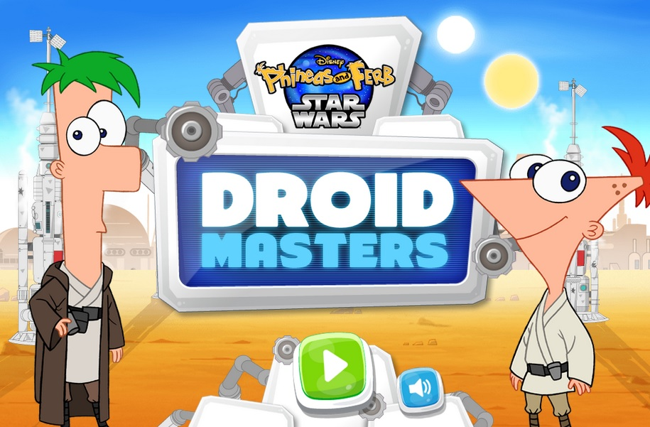 Droid Masters: Phineas and Ferb