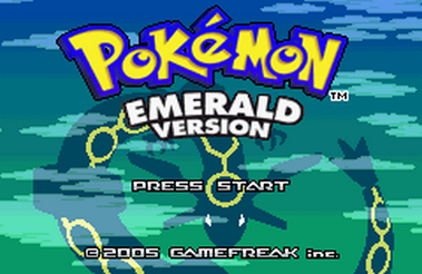 Pokemon Delta Emerald 2020 (GBA)