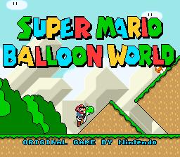 SMW: Balloon World