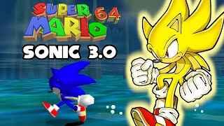 Super Mario 64 Sonic Edition (3.0)