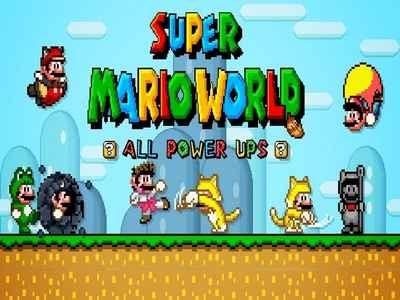 Super Mario World – ALL NEW POWER-UPS!!