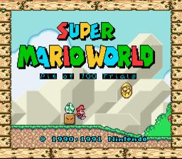 Super Mario World The Pit Version