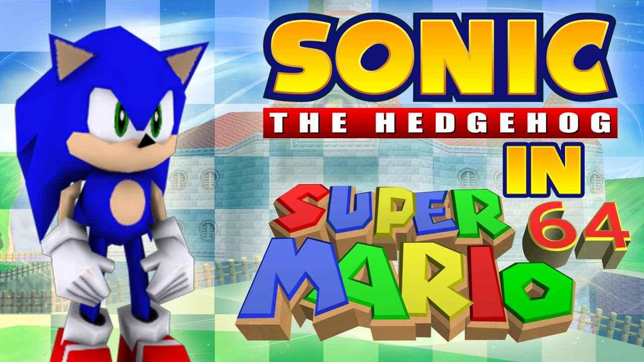 Super Sonic 64 Super Mario 64