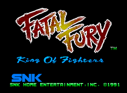 Fatal Fury King of Fighters