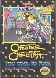 Chester Cheetah: Too Cool to Fool (Genesis)
