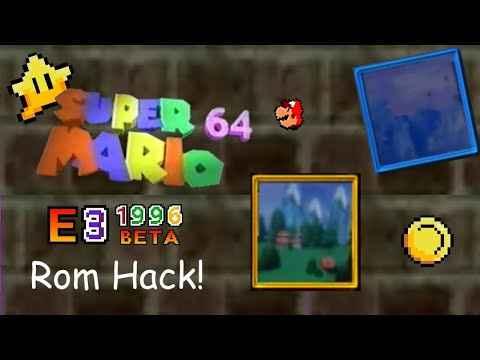 Super Mario 64 1996 E3 Beta Remake