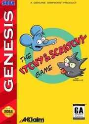 Itchy & Scratchy Game (Sega Genesis)