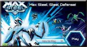 Play Max Steel Defesa de Aço