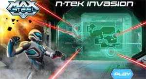 Max Steel Invasão da N-Tek