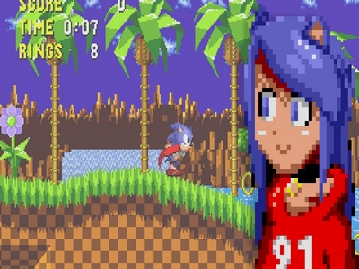 VTuber in Sonic 1