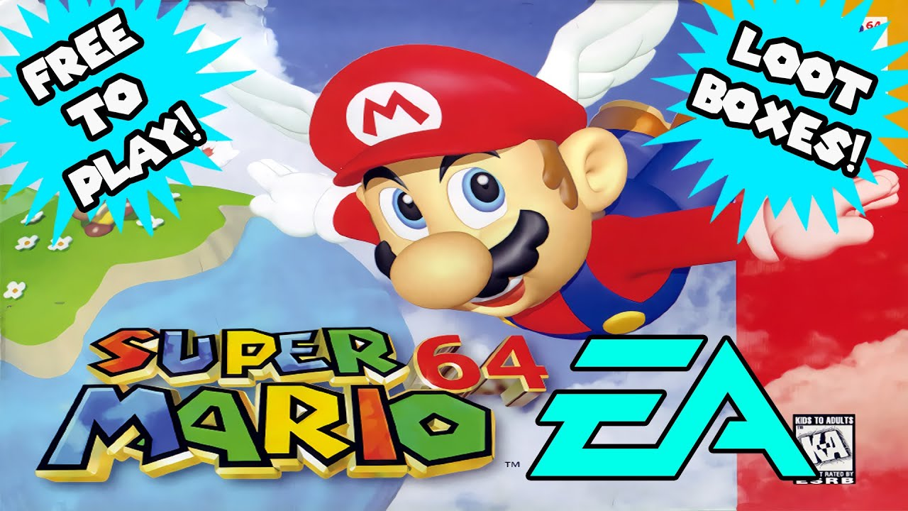 Super Mario 64 EA Version