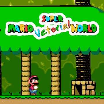 Super Mario Vetorial World