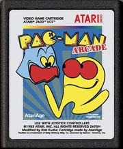 Pac-Man Arcade Enhanced (Atari 2600)