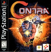 Contra Legacy Of War (1996) PS1