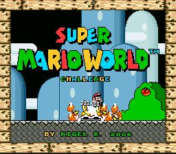 Super Mario World – Super Challenge World