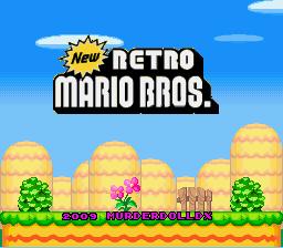 New Retro Mario Bros.