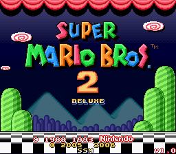 Super Mario Bros. 2 DX