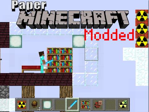 Paper Minecraft Modded