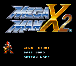 Mega Man X2 – Zero Playable