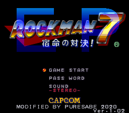 Rockman 7 EP | Mega Man 7