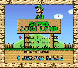Super Luigi Land – Super Mario World