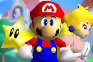 Super Mario 64 sem limite de velocidade