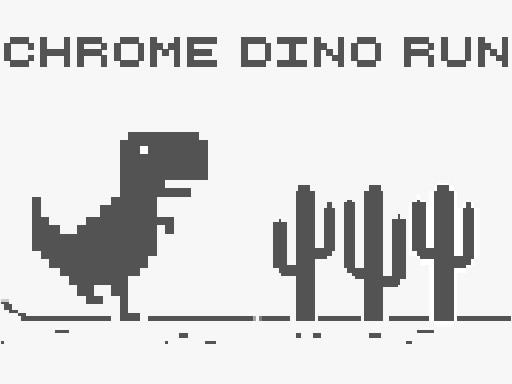 Play CHROME DINO RUN
