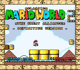 Classic Mario World 2: The Great Alliance