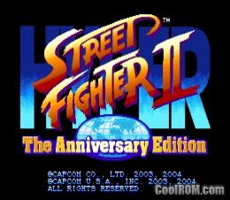 Hyper Street Fighter II: The Anniversary Edition (USA 040202)
