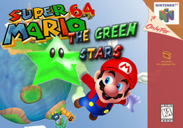 Play Super Mario 64 the Green Stars Mario edition