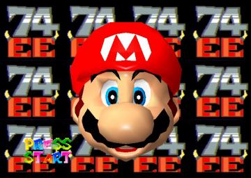 Play Super Mario 74 Extreme Edition