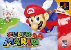 Super Mario 64 PS2 Port USA